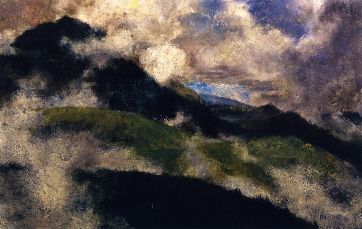 Franz Mark. Mountain landscape