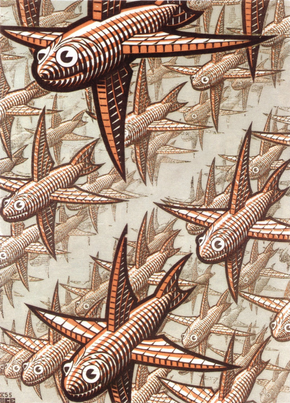 Maurits Cornelis Escher. Depth