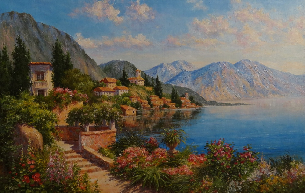 Irina Nikolaevna Borisova. Seaside town