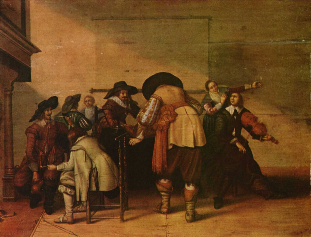 Ян ван Олис. Веселое общество