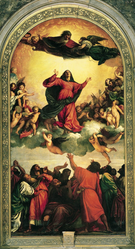 Titian Vecelli. Assunta: Assumption Of The Virgin Mary