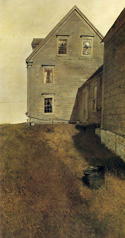 Andrew Wyeth. The windward side