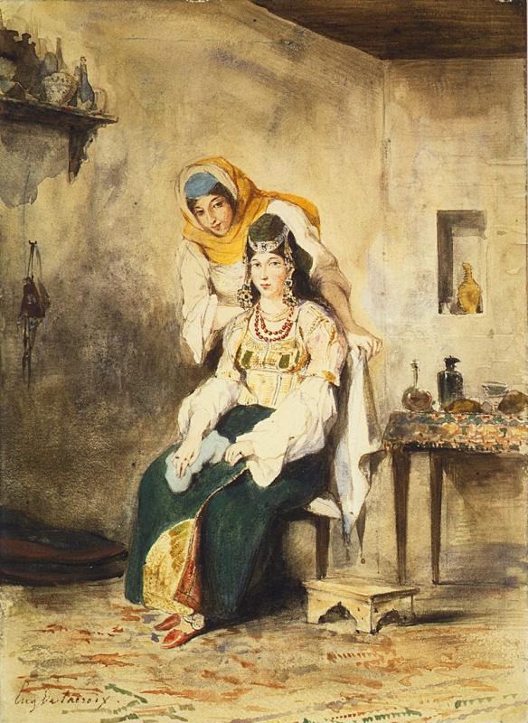 Саада, жена Авраама Бен-Шимола и Пресиада, одна из дочерей