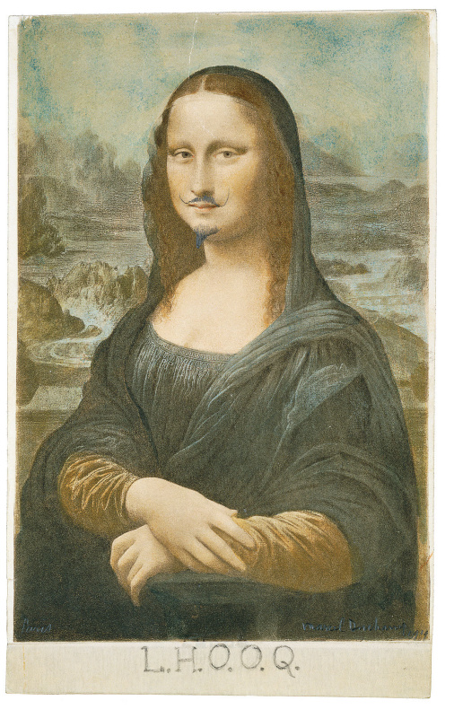 Marcel Duchamp. L.H.O.O.Q.