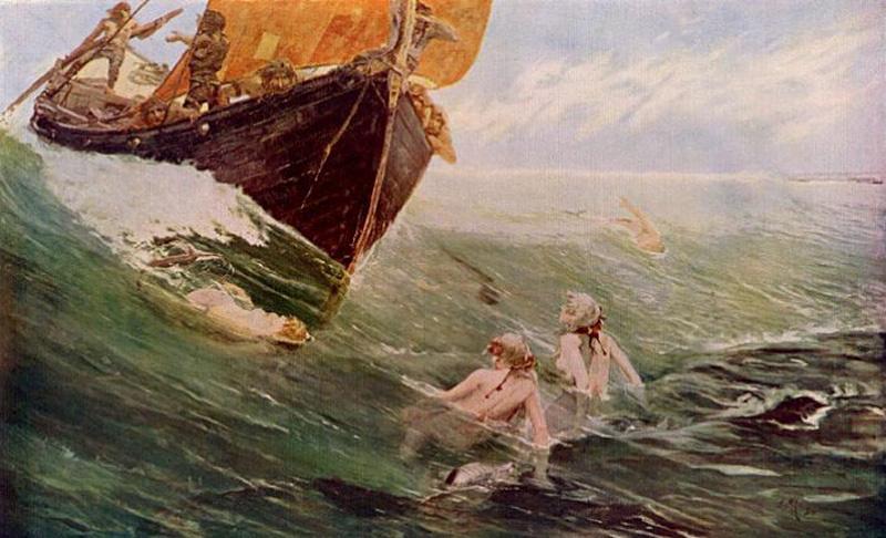 Edward Matthew Hale. Mermaid