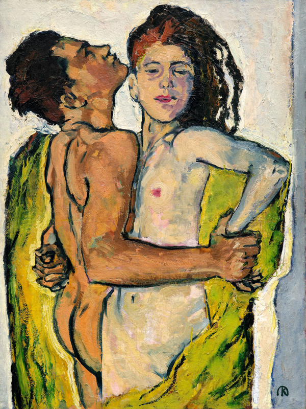 Koloman Moser. Lovers