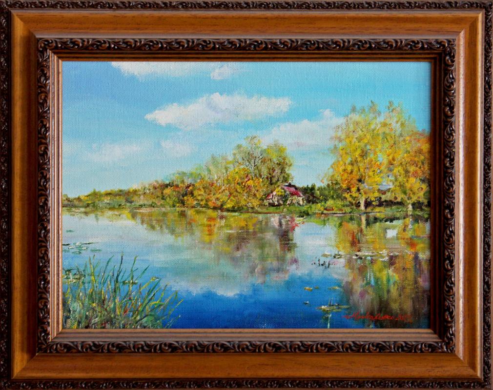 Alexey Pavlovich Moskalenko. Quiet river