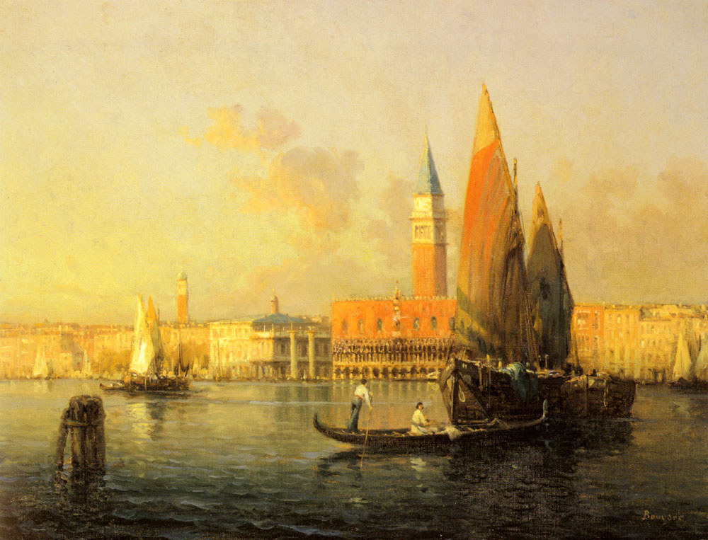 Антуан Бувар. Вид Венеции