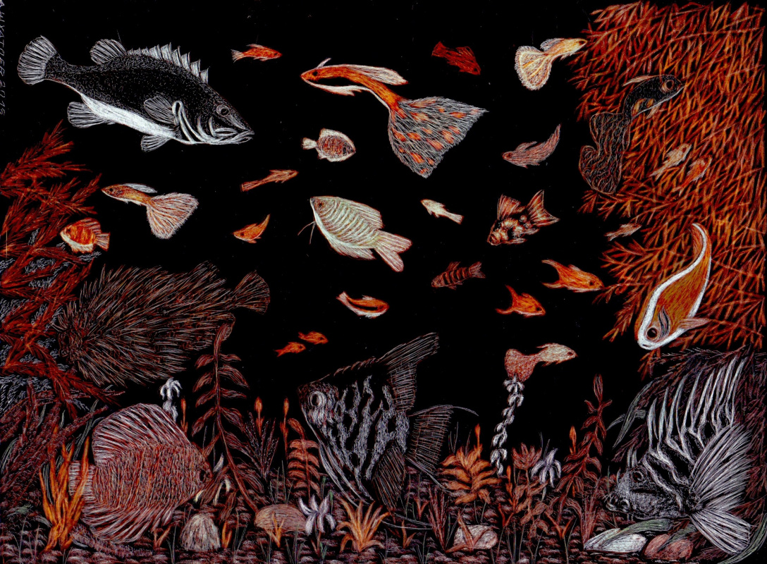 Martin Gurgenovich Ashkhatoev. Fishes 2