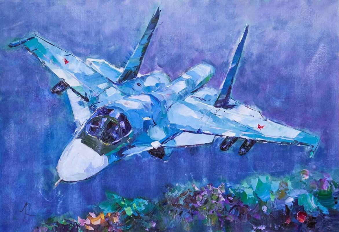 "Jose Rodriguez. ""Aircraft MiG-35. In the sky"""