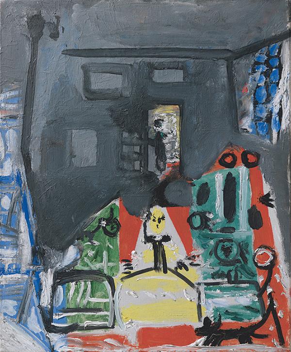 Пабло Пикассо. Менины. Интерпретация №14