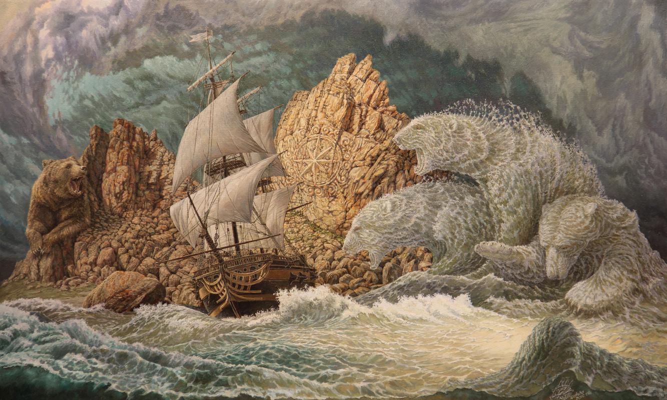 Georgy Ineshin. Storm of the North Wind