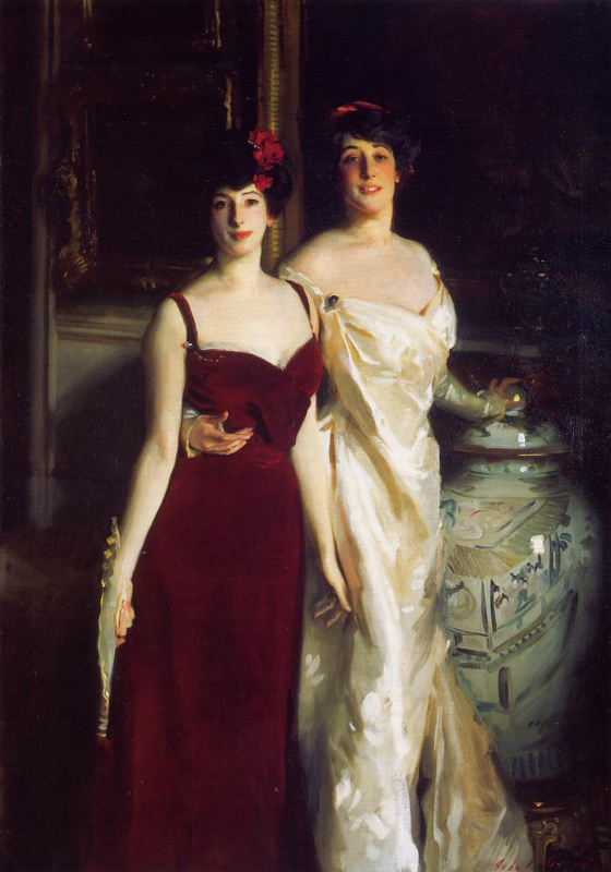 Ena and Betty, daughters of Asher and Mrs. Wertheimer