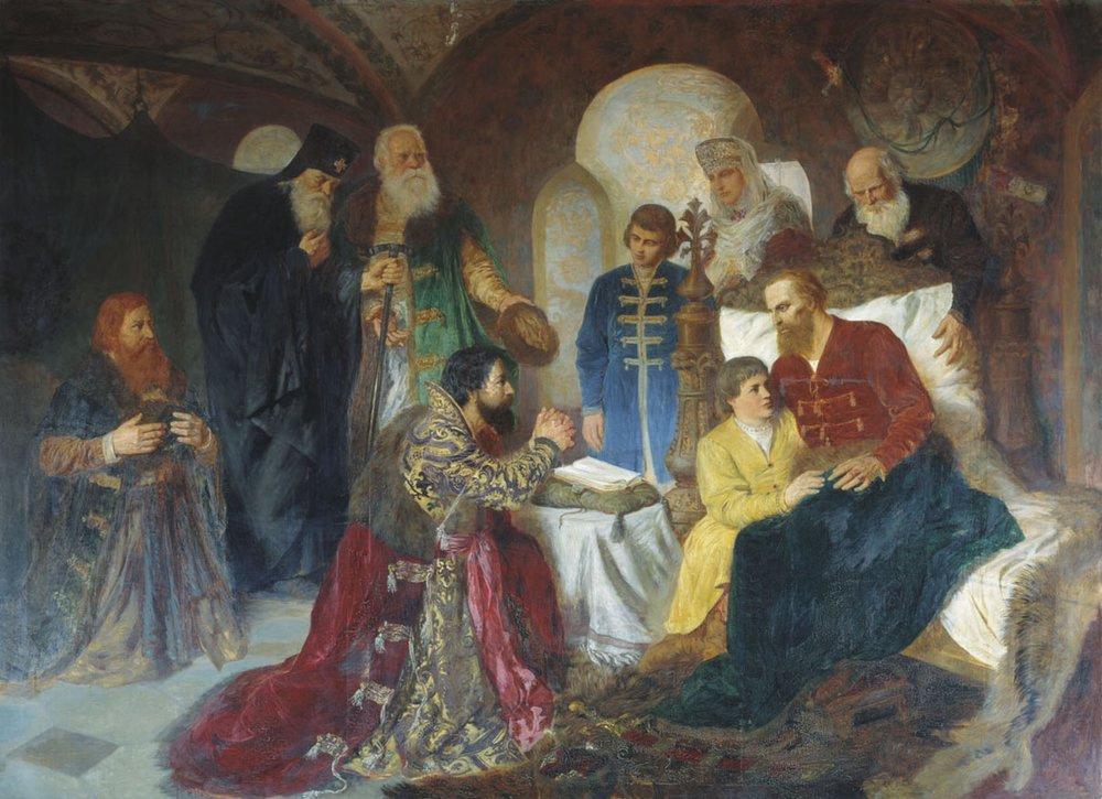 Вильгельм Александрович Котарбинский. Больной князь Дмитрий Пожарский