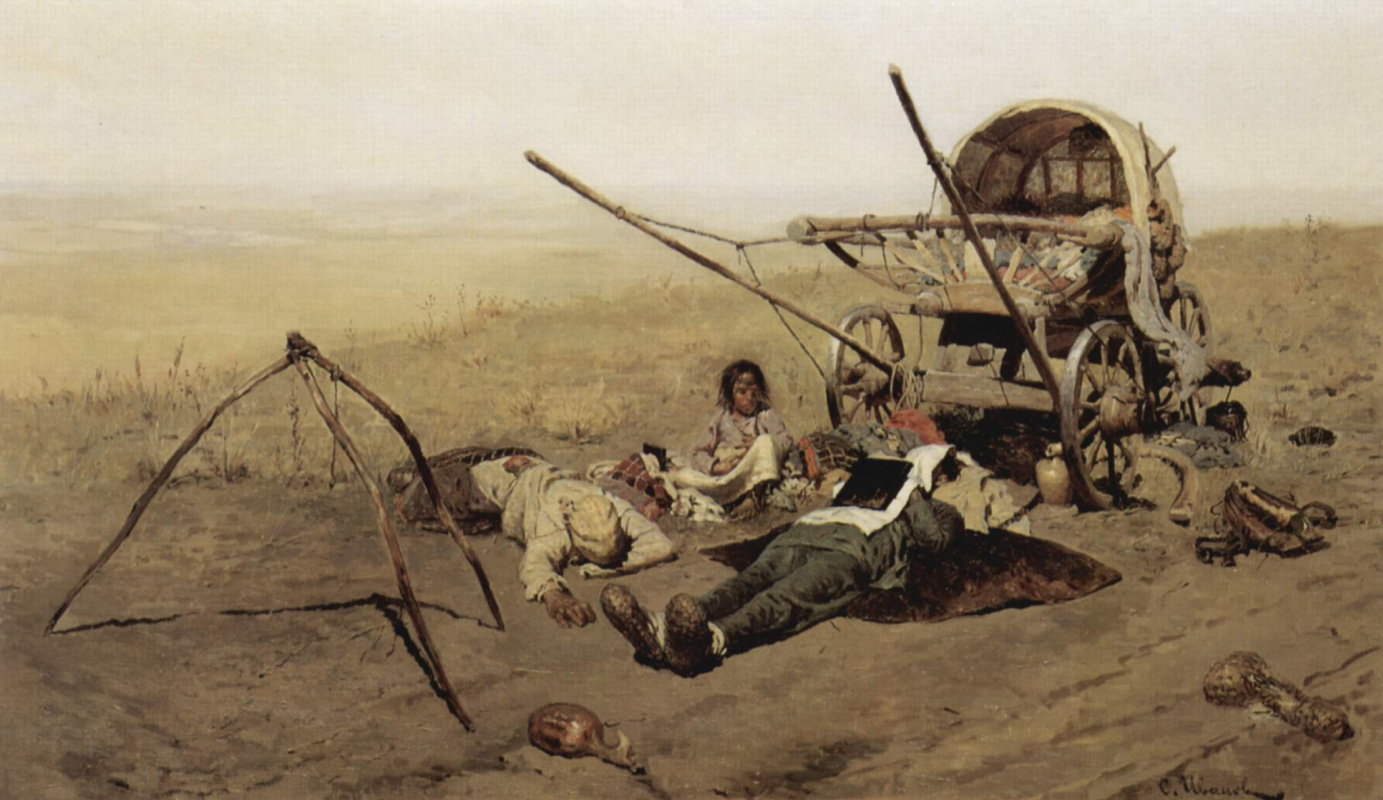 Sergey Vasilievich Ivanov. In a way, the death of the settler