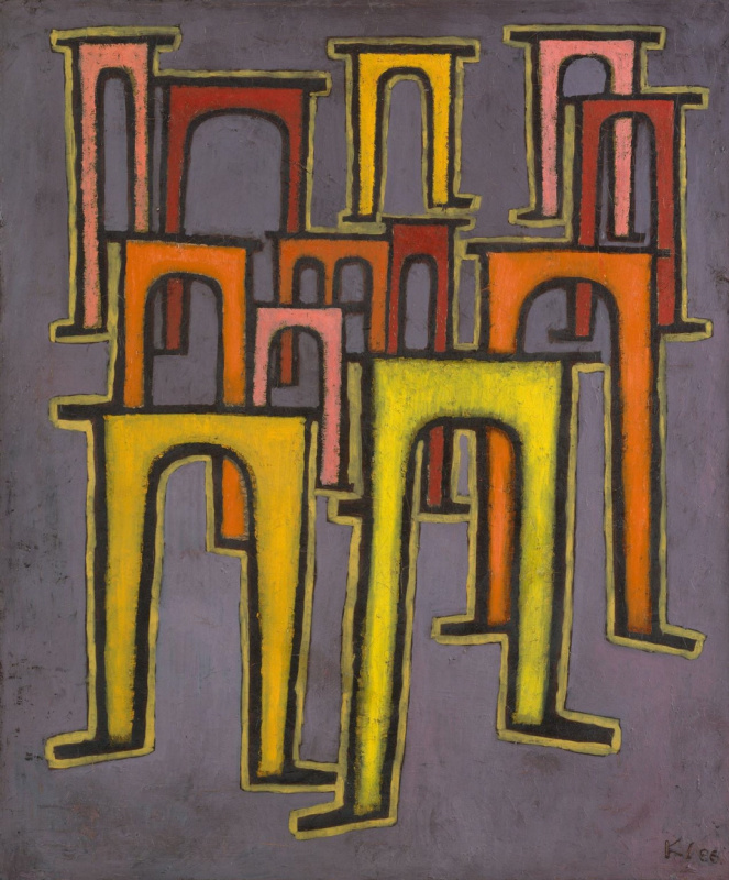 Paul Klee. Revolution of the viaduct