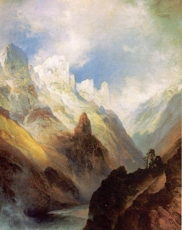 Моран. Высокие горы