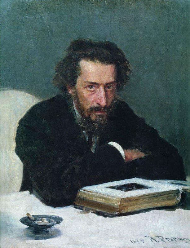 Ilya Efimovich Repin. Portrait of composer P. I. Blaramberg