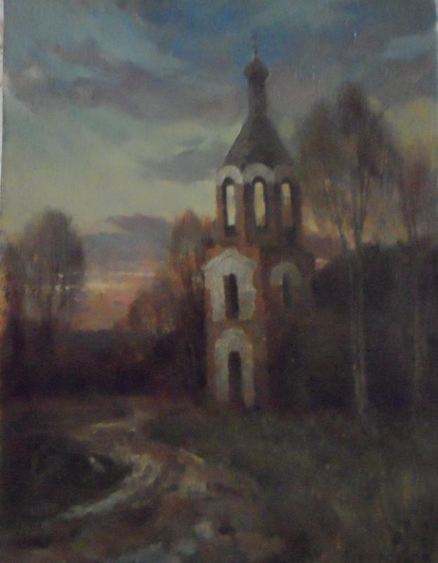 Александр валерьевич петухов. Колокольня