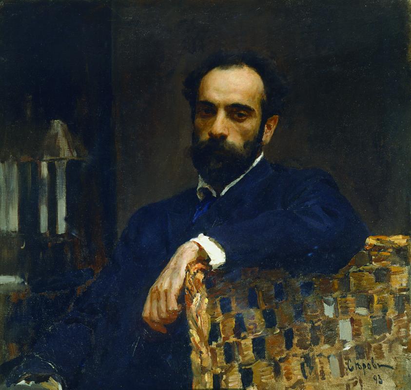 Valentin Aleksandrovich Serov. Portrait of the artist Isaac Levitan