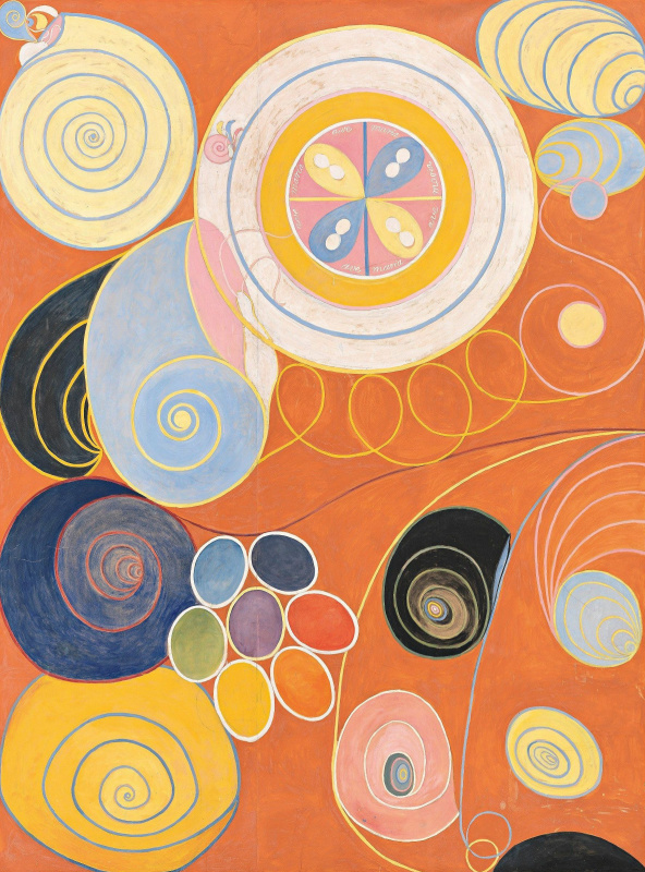 "Hilma af Klint. Series ""Ten most important."" Youth"