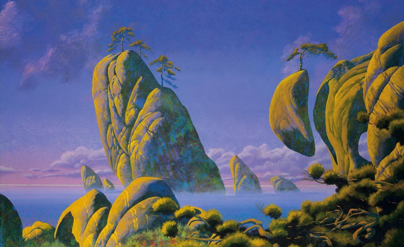 Роджер Дин. Желтые острова