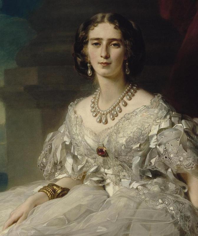 Franz Xaver Winterhalter. Portrait of Princess Tatyana Alexandrovna Yusupova