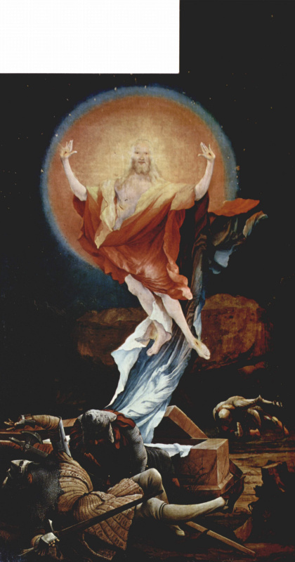 Matthias Grünewald. Sengeysky the altar, inner side, right wing