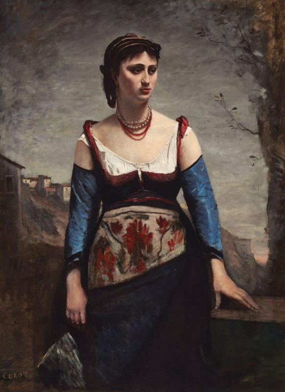 Italian Woman (Agostina Segatori)