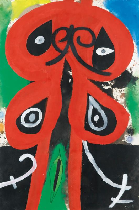 Joan Miro. Woman