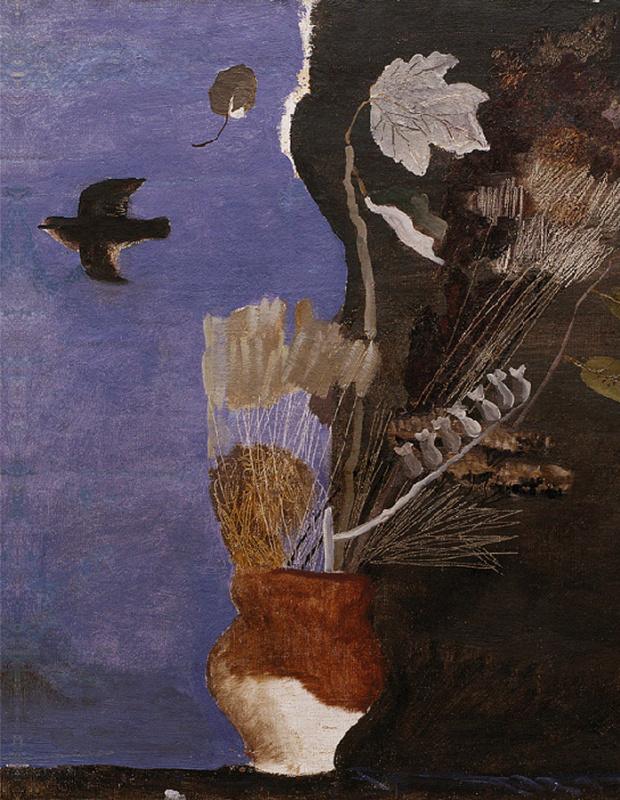 Alexander Alexandrovich Deineka. Dry leaves