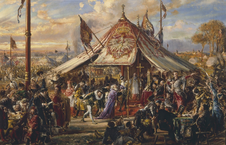Ян Матейко. История цивилизации в Польше. Золотая вольница. Республика в своем расцвете. Выборы 1573 года