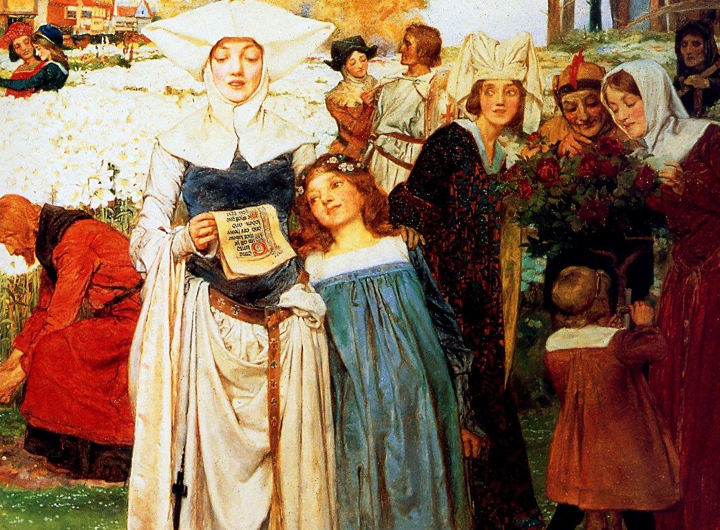 Arthur Augustus Dixon. Royal garden or Harvest