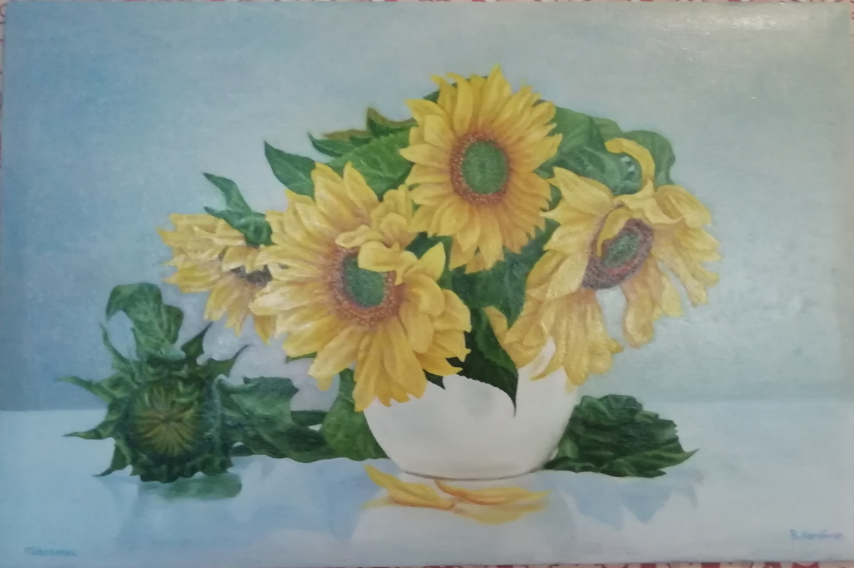 Korobkin. Sunflowers