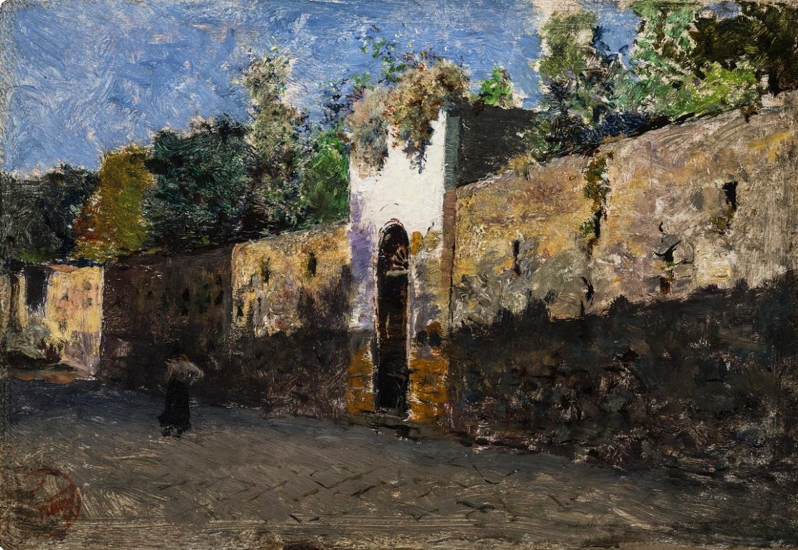 Mariano Fortuni-i-Carbo. Granatello Street in Portici