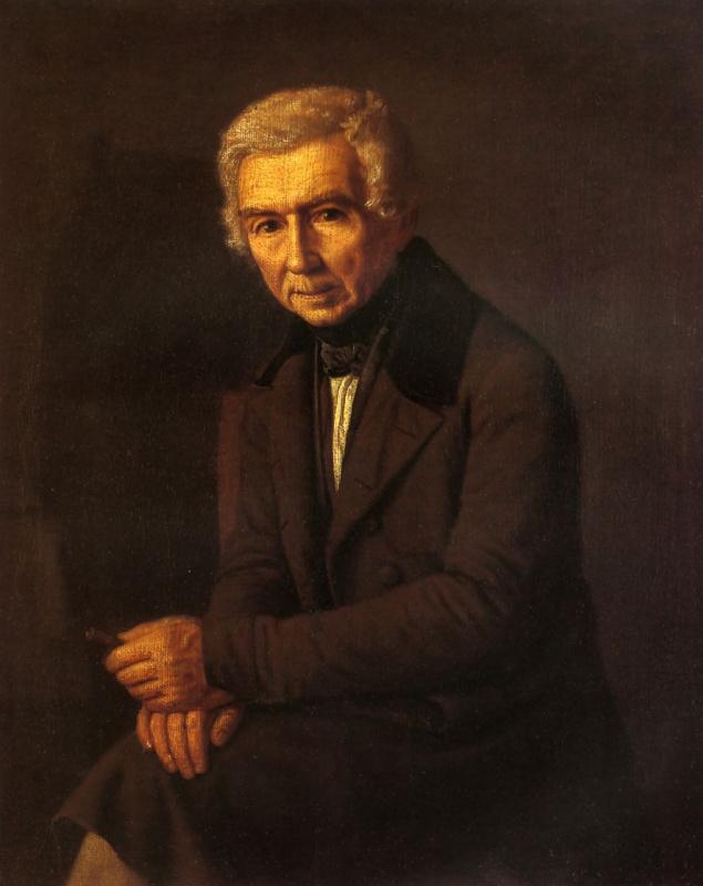 Григорий Васильевич Сорока. Портрет А. Г. Венецианова