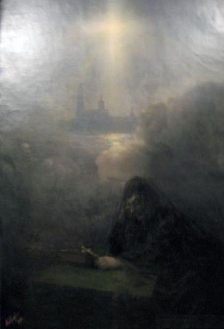 Иван Константинович Айвазовский. На смерть Александра III