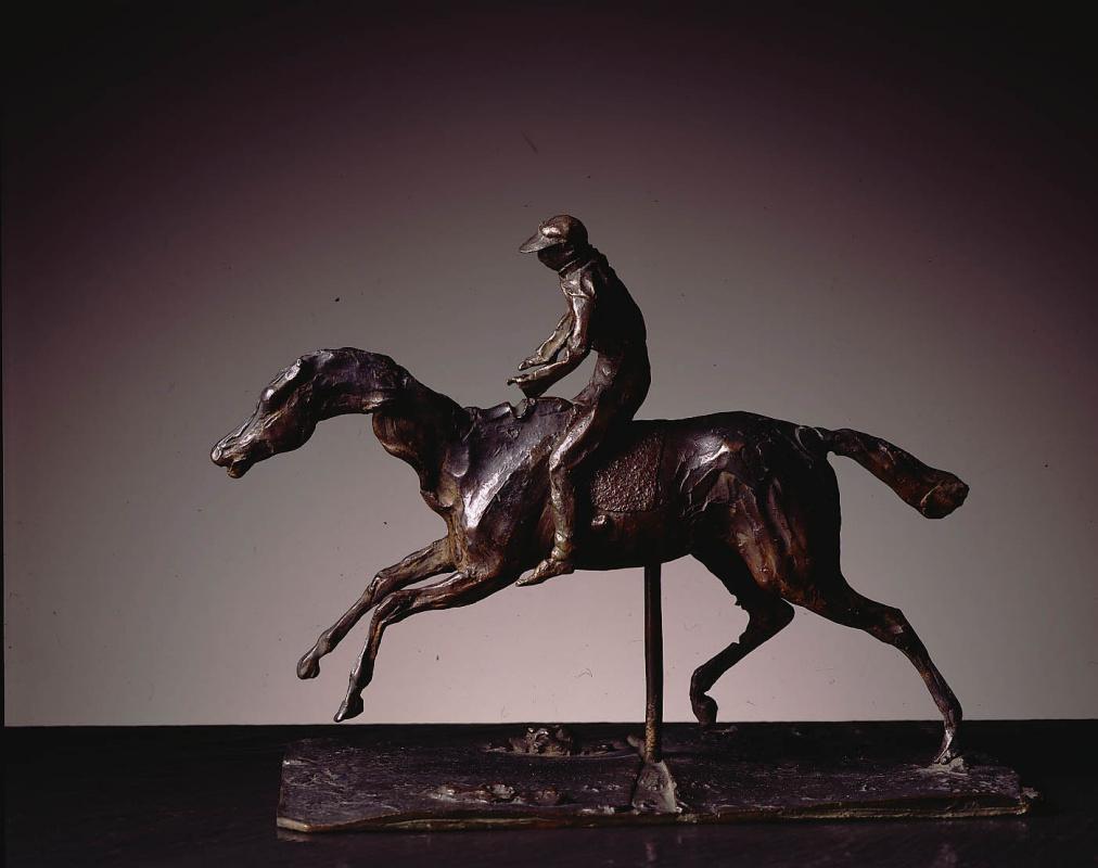 Эдгар Дега. Лошадь и наездник