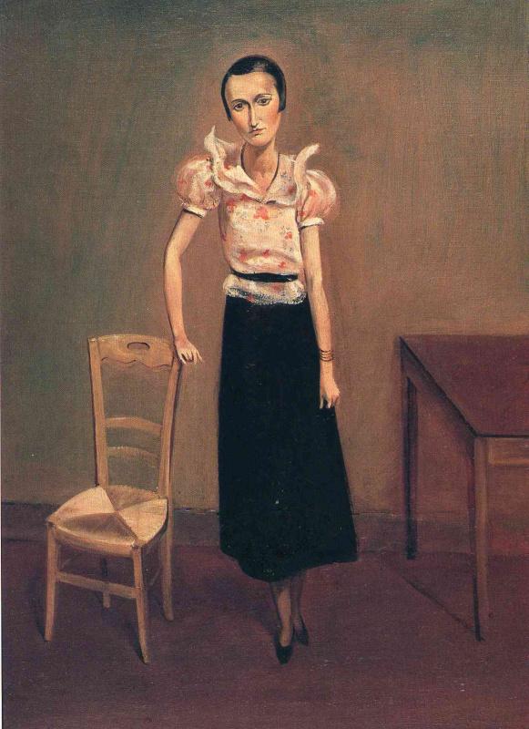 Balthus (Balthasar Klossovsky de Rola). Portrait of Madame Pierre Loeb