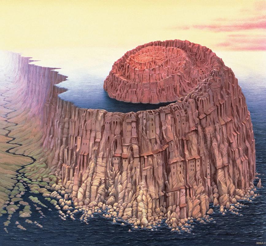 Jacek Yerka. Ammonite