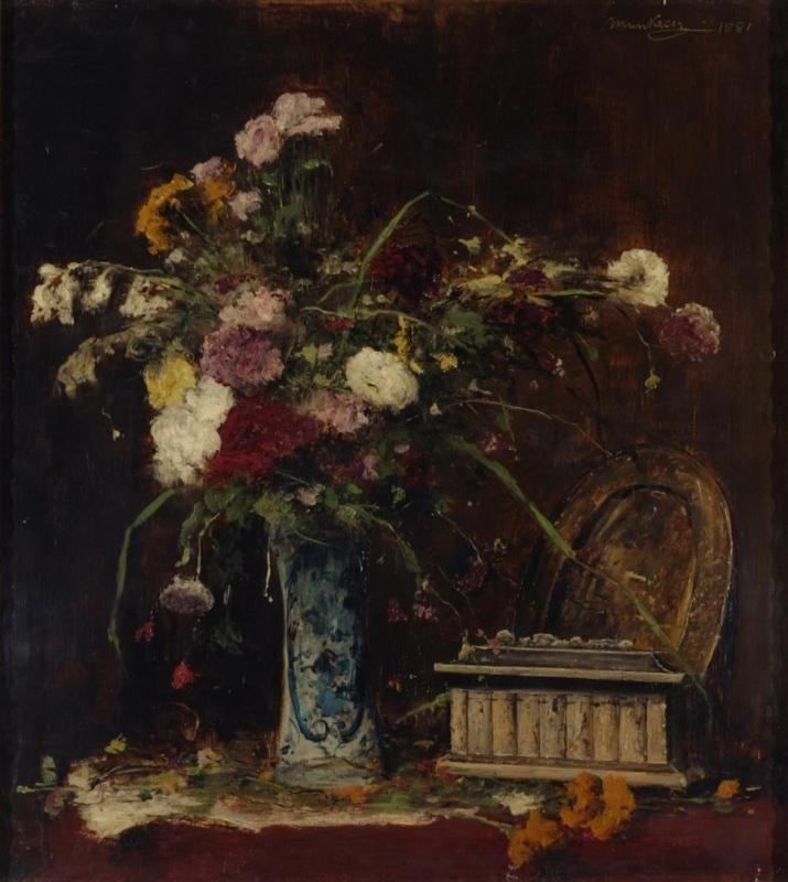 Mihály Munkácsy. Bouquet