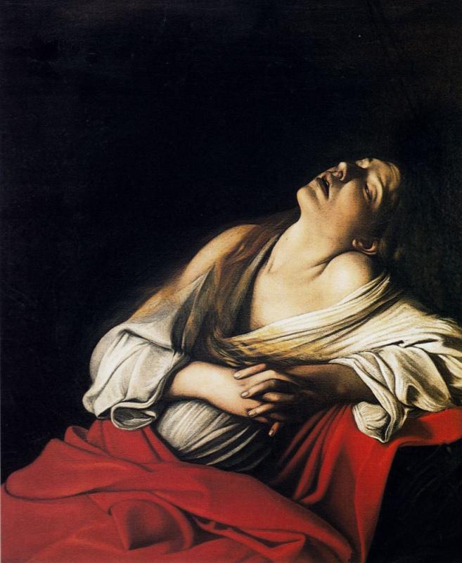 Мария Магдалина в экстазе