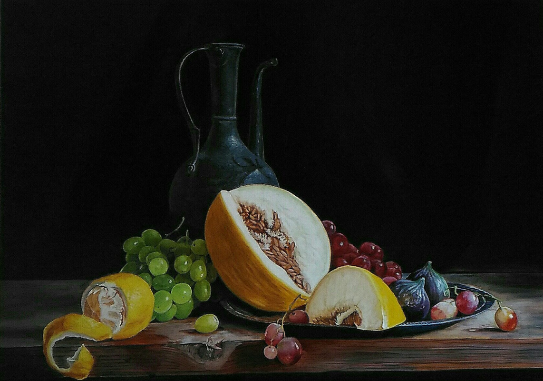 Vladimir Alexandrovich Golovanov. Jug and fruit