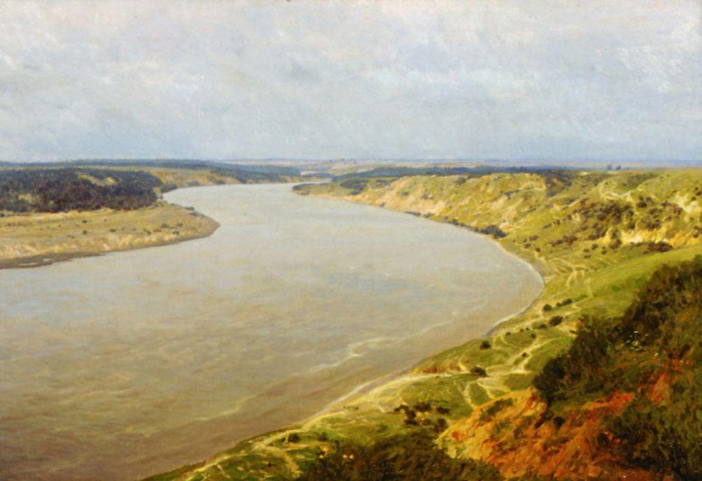 Станислав Юлианович Жуковский. Река Неман