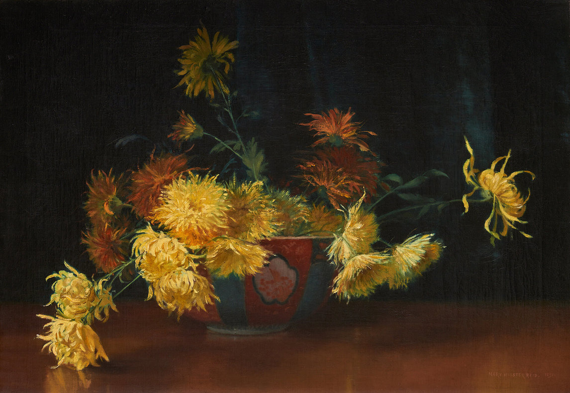 Mary Augusta Hister Reed. Chrysanthemums