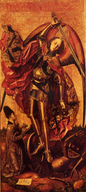 Бартоломео де Карденас Бермехо. Св. Михаил и дракон