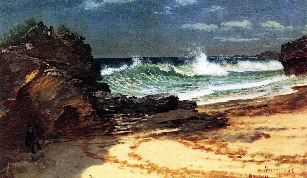 Альберт Бирштадт. Пляж в Нассау