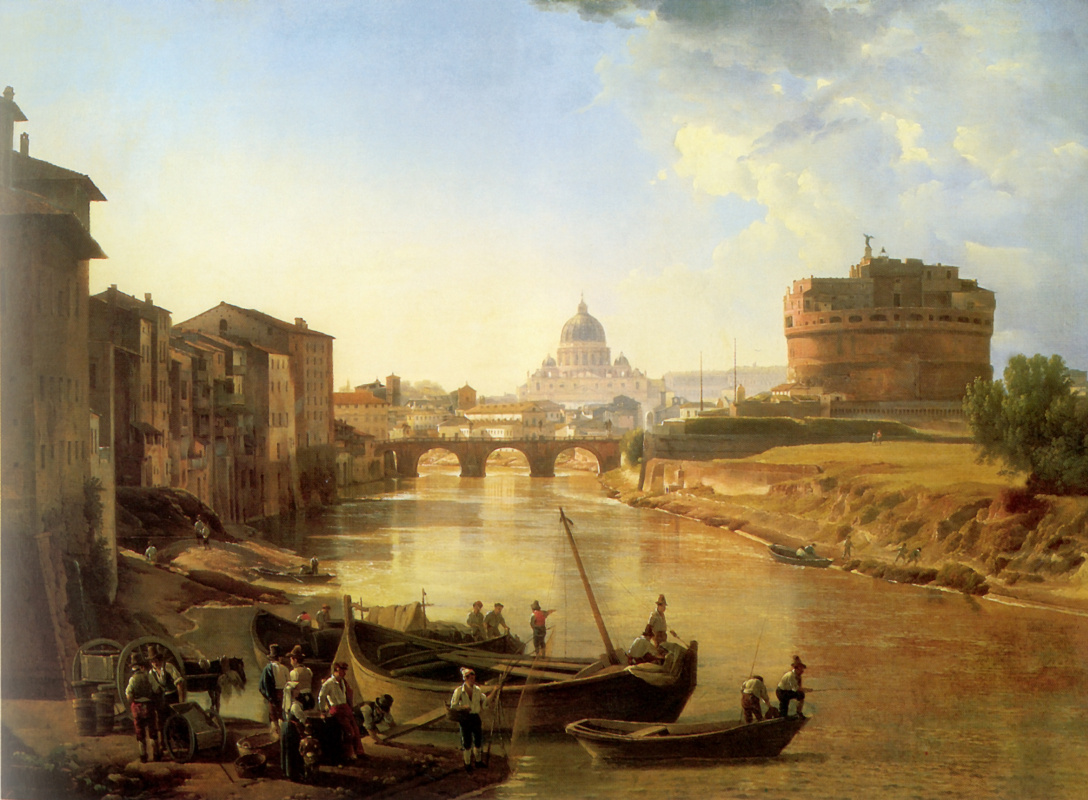 Sylvester Feodosievich Shchedrin. New Rome. Castel Sant'angelo
