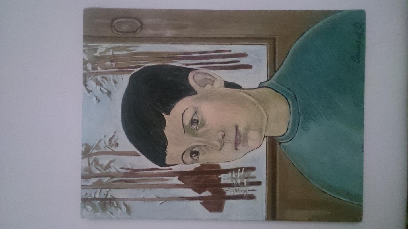 Rustam Ahsanovich Salikhov. Portrait
