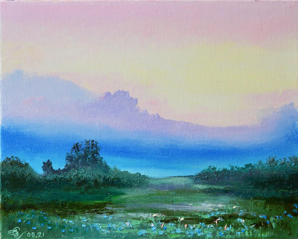 Vadim Anatolyevich Stolyarov. Pink sky
